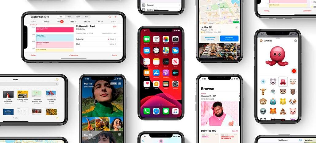Apple começa a disponibilizar a atualização 13.2.3 para iOS e iPadOS