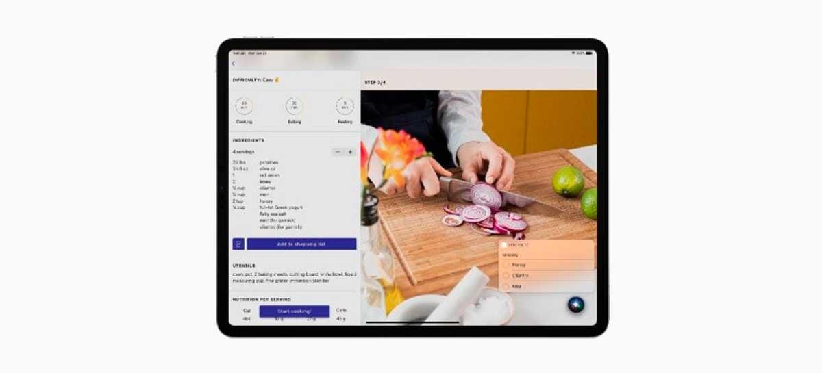 iPadOS vai permitir conversas com a Siri e interação com apps simultaneamente