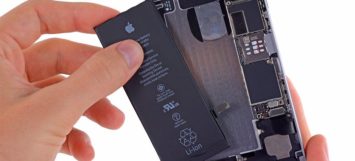 Nova tecnologia nos iPhones de 2021 pode oferecer baterias menores com mesma capacidade