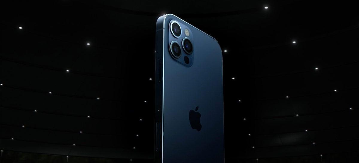 """iPhone 13 deve manter visual do 12, mas vir com tela always-on e traseira """"refinada"""""""