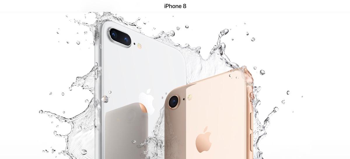 iPhone 8 recuperado de um rio depois de dois meses ainda funcionava perfeitamente