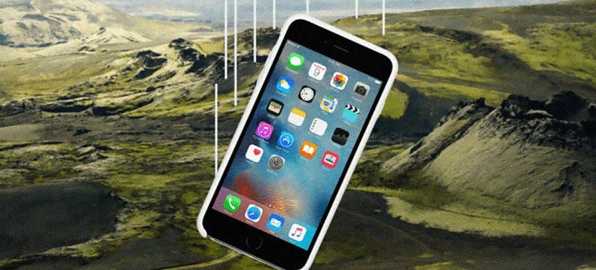iPhone 6S cai de avião a 300 metros de altura e grava queda - Veja vídeo!