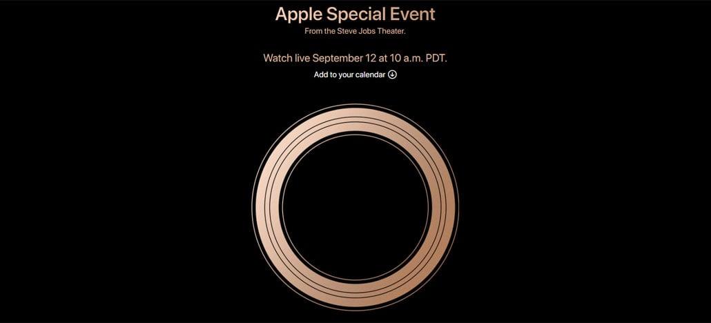 Apple vai apresentar iPhones de 2018 em evento no dia 12 de setembro