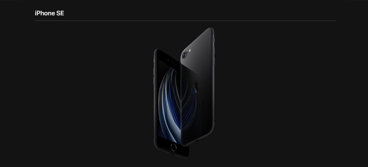 Câmera frontal do novo iPhone SE suporta Modo Retrato com controle de profundidade