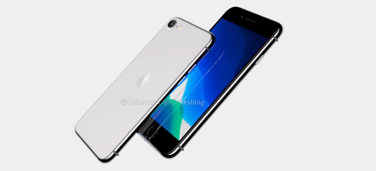 iPhone SE 2: suposto design do celular da Apple aparece em vazamento