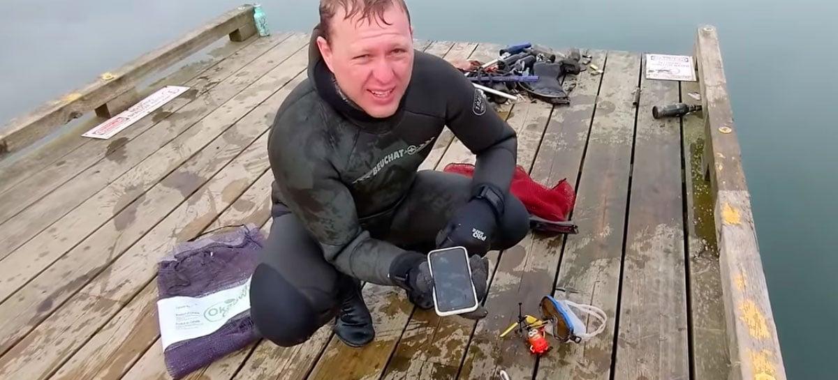 iPhone 11 é encontrado funcionando após meses submerso