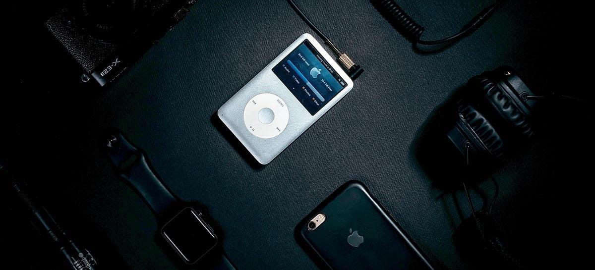 iPod Classic de 17 anos é modificado para transmitir Spotify sem fio