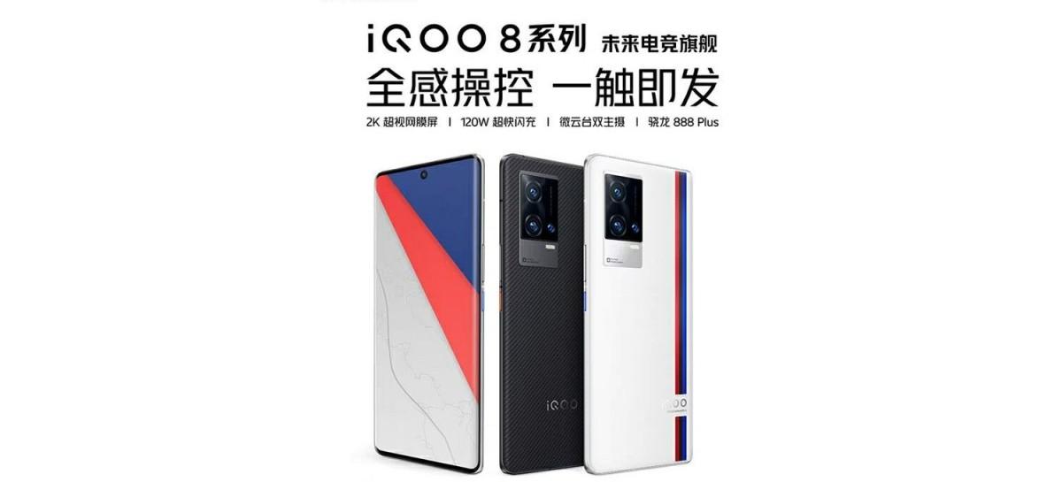 iQOO 8 BMW Edition aparece em leak e com SoC Snapdragon 888 Plus