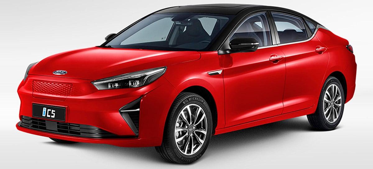 JAC Motors trará carro elétrico JAC iC5 ao Brasil em 2022