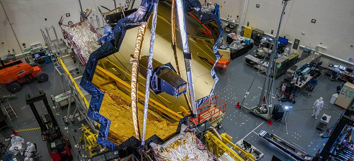 Lançamento do telescópio James Webb da NASA é adiado por causa da Covid-19