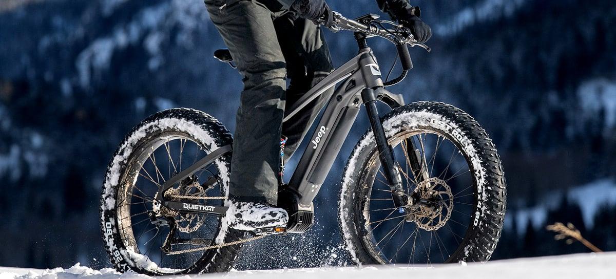 E-Bike, a bicicleta elétrica da Jeep, já está em pré-venda por US$ 5.899
