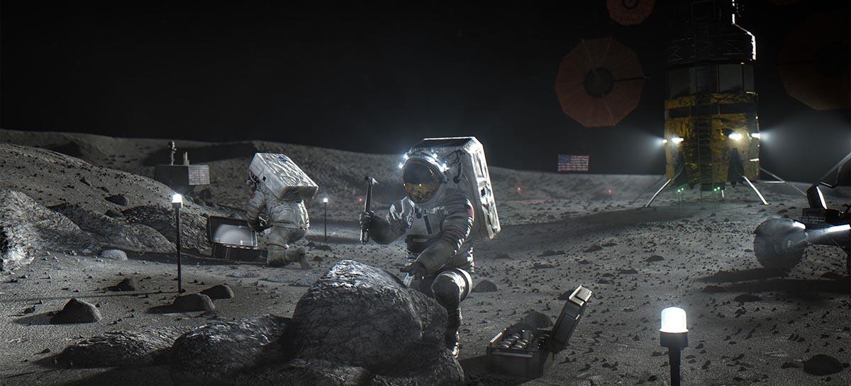 Jeff Bezos comemora testes no motor que levará a primeira mulher à lua