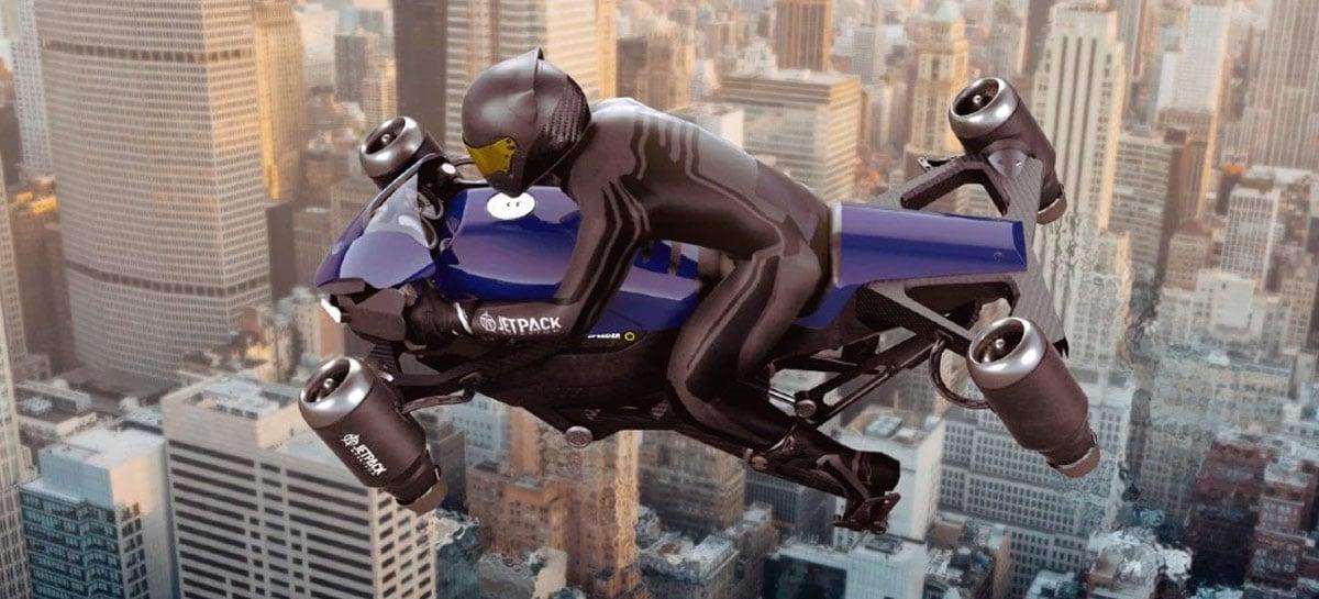 A primeira moto voadora do mundo está perto de se tornar realidade
