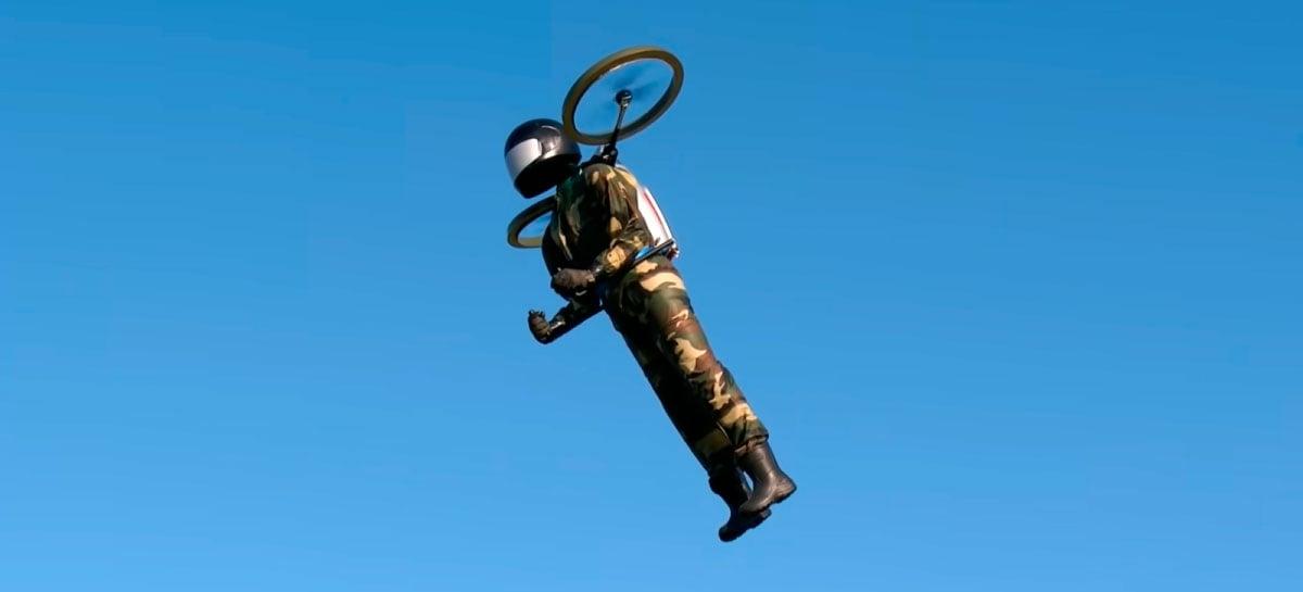 Homem em  uma Jet Pack é visto novamente nos EUA - um drone?
