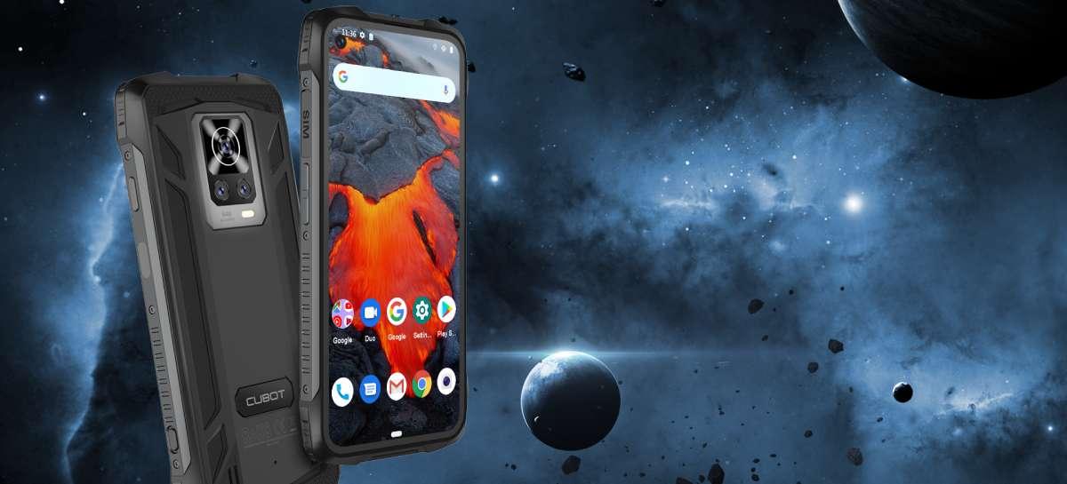 Smartphone Cubot KingKong 7: celular robusto tem chipset Helio P60 e 8GB RAM por US$ 180