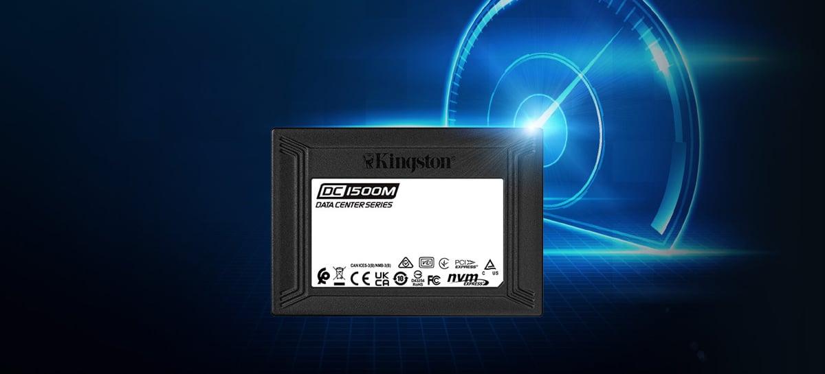 Kingston lança seu novo SSD DC1500M para data centers