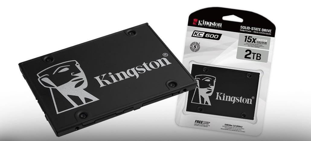 Kingston lança nova linha de SDDs KC600 padrão SATA com até 2TB