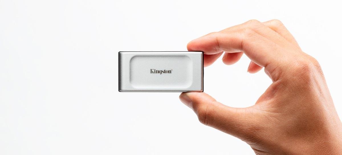 Kingston anuncia SSD portátil compacto de alta velocidade e grande capacidade