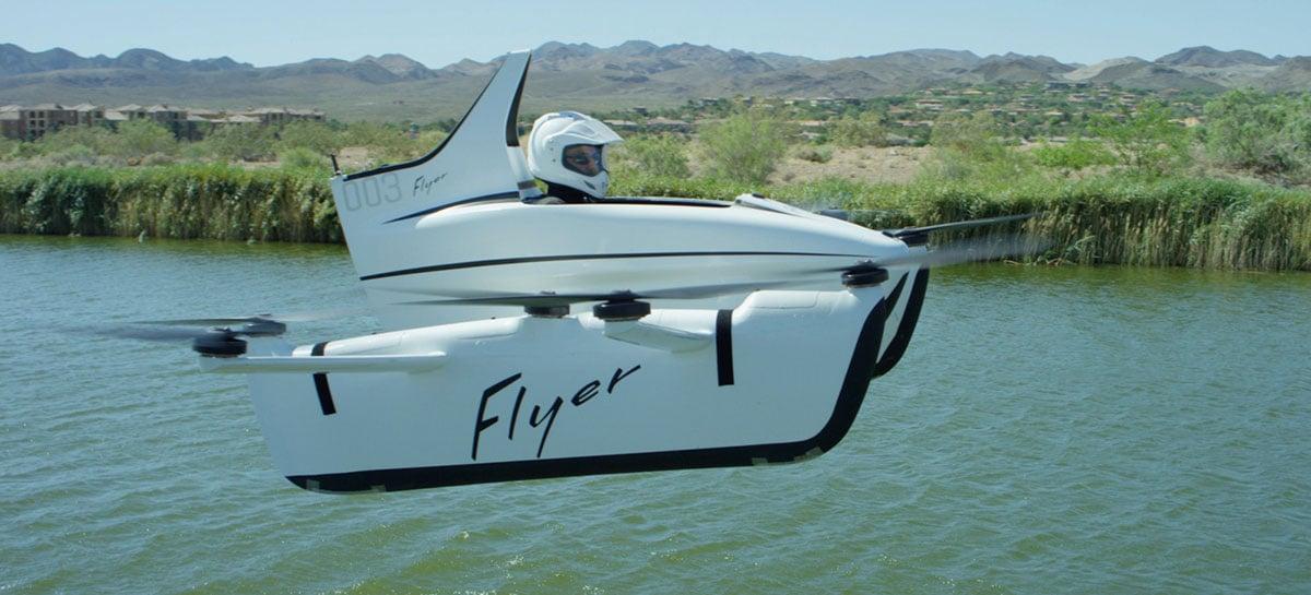 Kitty Hawk encerra Flyer, o seu projeto de carro voador