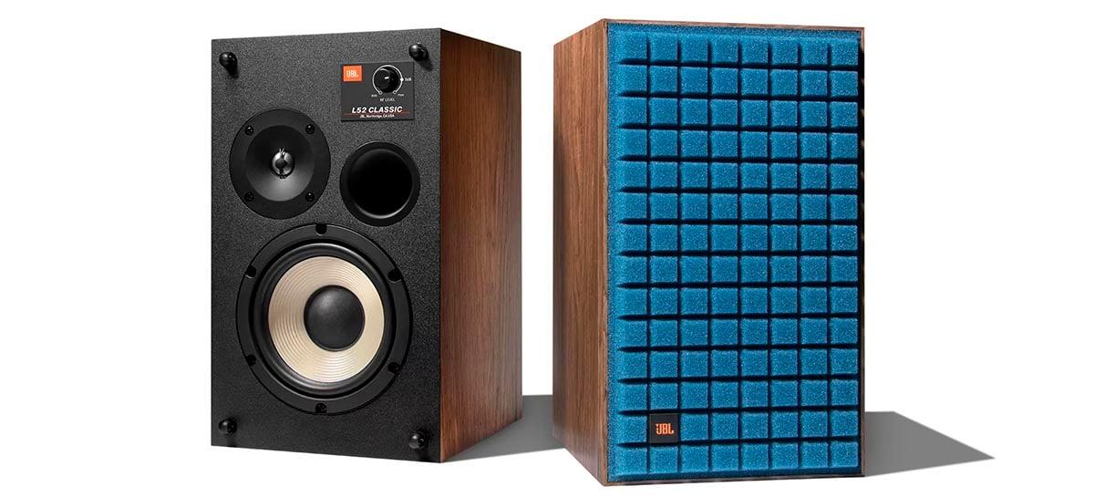 L52 Classic são as novas caixas de som da JBL feitas em madeira