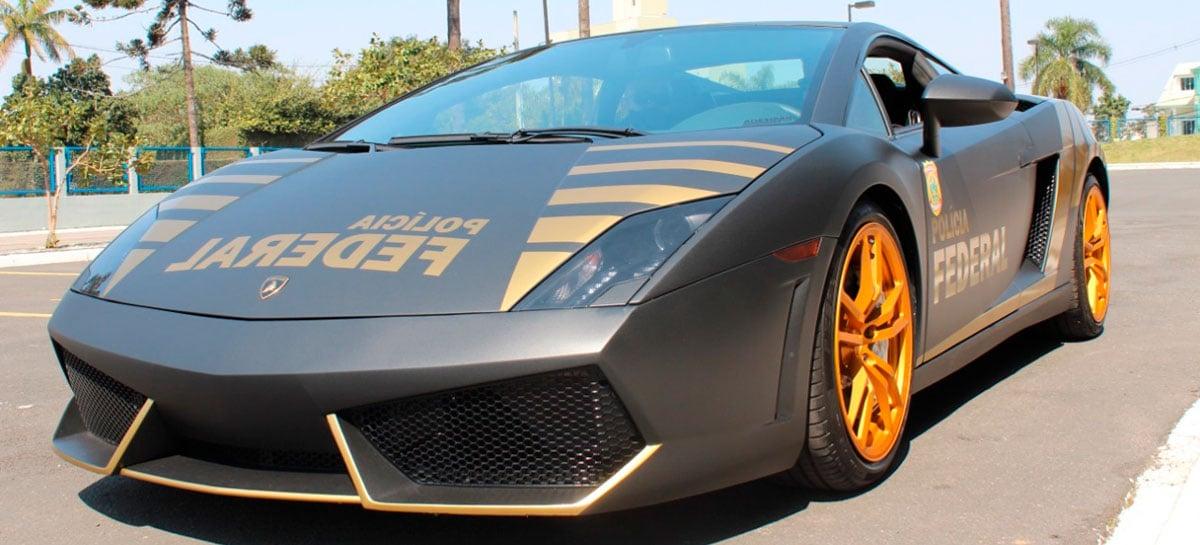 "Lamborghini do ""Rei do Bitcoin""  vira carro de polícia no Paraná"