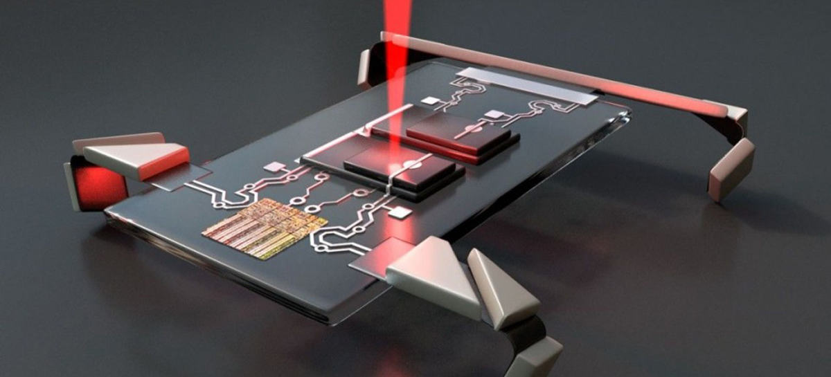 Robôs ativados por laser da Universidade Cornell são menores que um paramécio