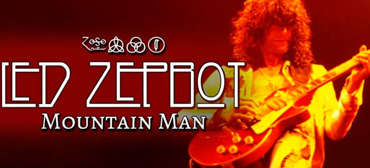 Confira Mountain Man - música do Led Zeppelin criada por IA