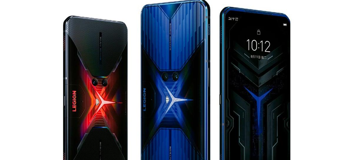 Celular gamer Lenovo Legion Phone Duel chega ao Brasil por R$ 7.199