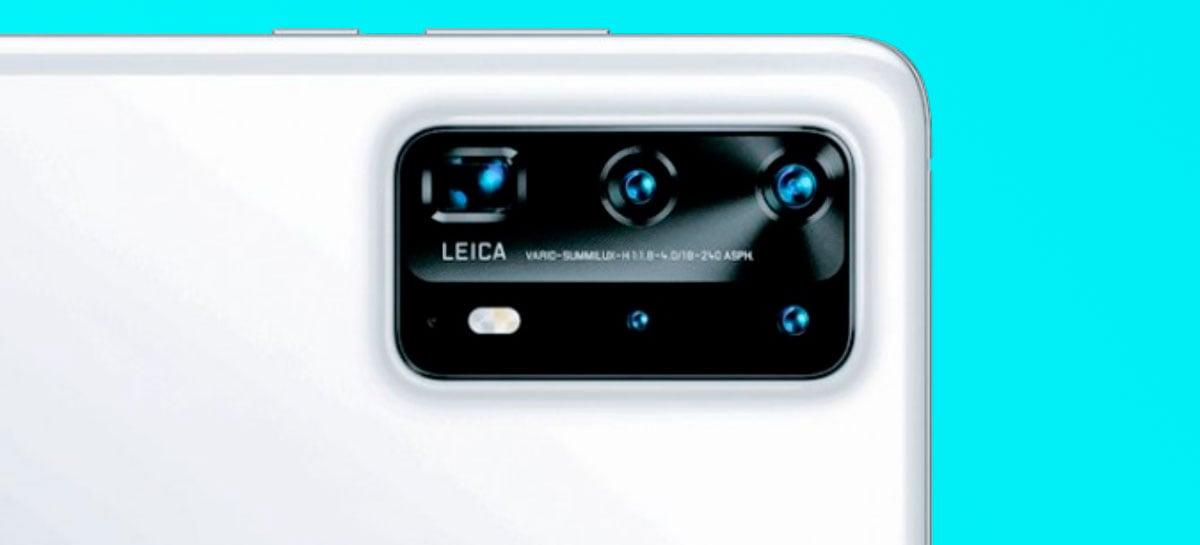 Huawei P40 Pro pode ter cinco câmeras traseiras: veja o que cada uma faz