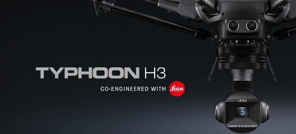 Câmera do novo drone Yuneec Typhoon 3 é desenvolvida com tecnologia Leica