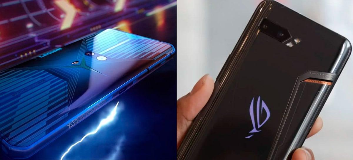 Dia do celular gamer: Lenovo Legion e Asus ROG Phone 3 chegam em 22 de julho