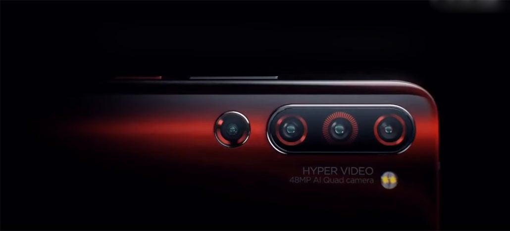 Lenovo Z6 Pro terá quatro câmeras que fazem fotos de 100 MP