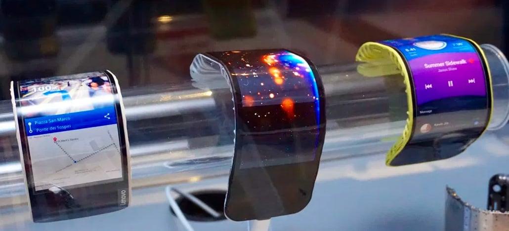 Protótipo de smartphone dobrável da Lenovo aparece em um vídeo divulgado no Twitter
