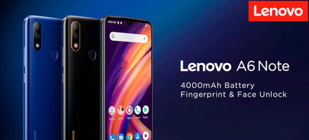 Lenovo A6 Note aparece em loja online com as principais especificações