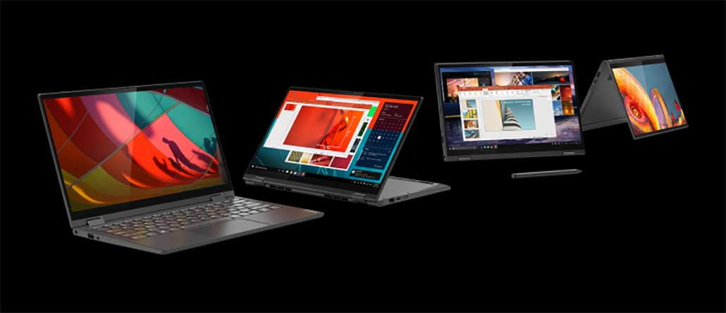 Lenovo anuncia na IFA notebooks Yoga 4K HDR com CPU Intel 10