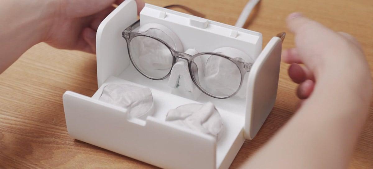 Empresa arrecada R$ 1,5 milhão em projeto de limpador automático de óculos