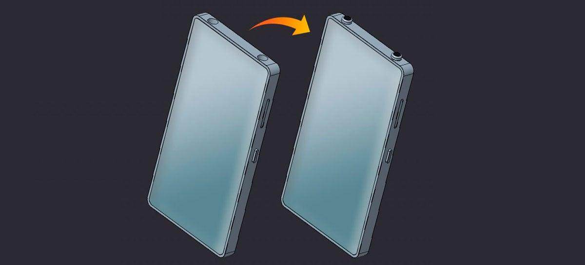 Xiaomi registra celular com design de iPhone e dois furos na borda superior