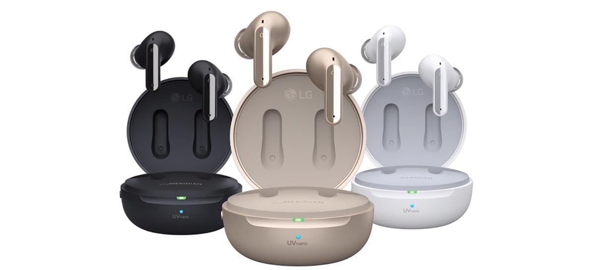 LG anunciou seus novos fones de ouvido sem fio Tone Free
