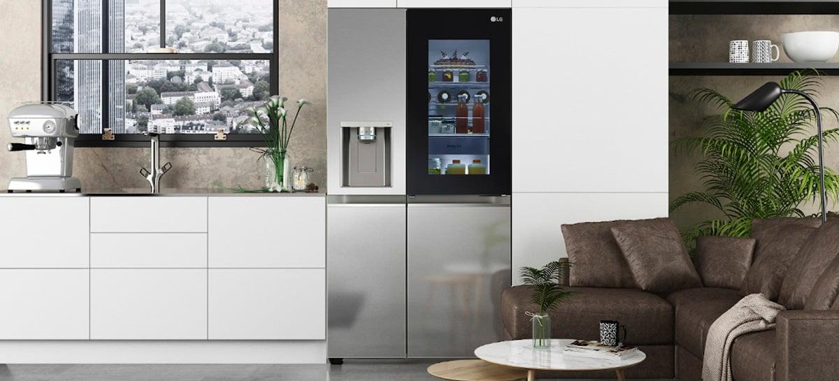 Refrigerador LG InstaView chega com mais tecnologias e foco em higiene