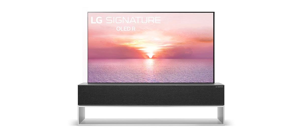 LG lança sua nova smart TV OLED rolável custando US $ 100.000