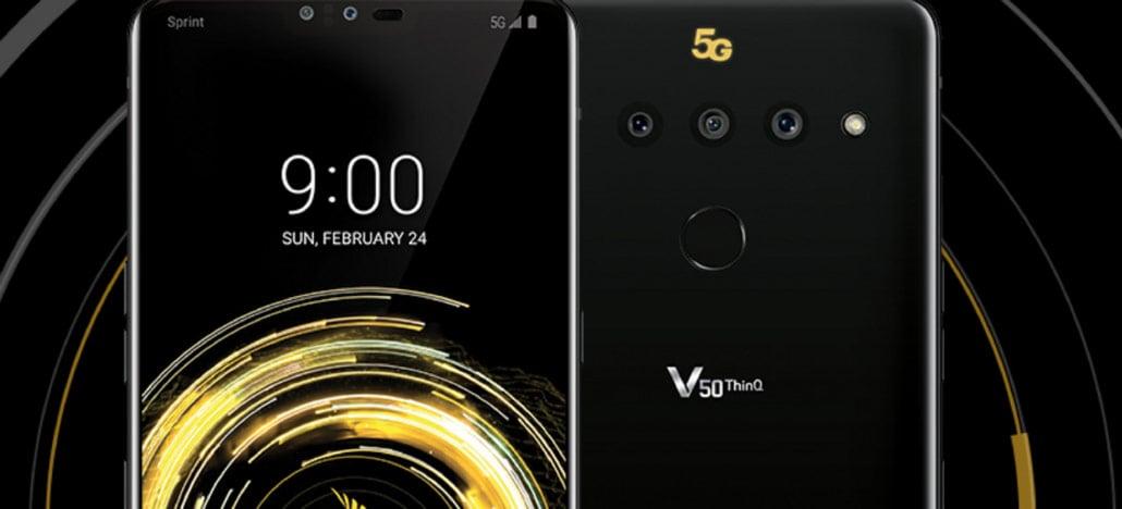 LG apresenta três smartphones na MWC 2019: o V50 ThinQ, o G8 ThinQ e o G8s ThinQ