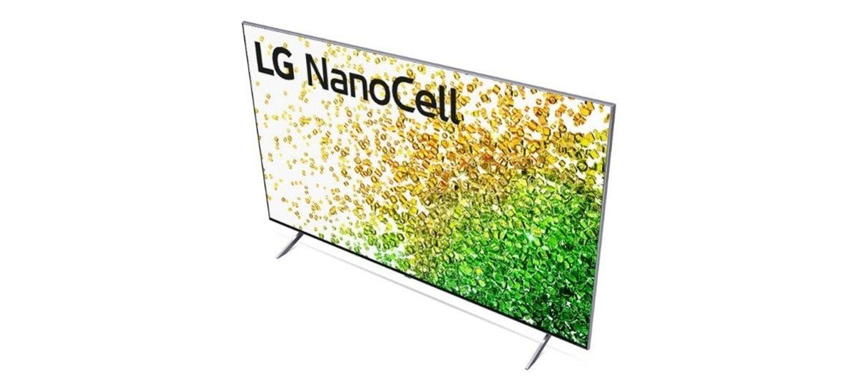 LG NanoCell TV 2021 inova com design repaginado e maior eficiência com novo processador