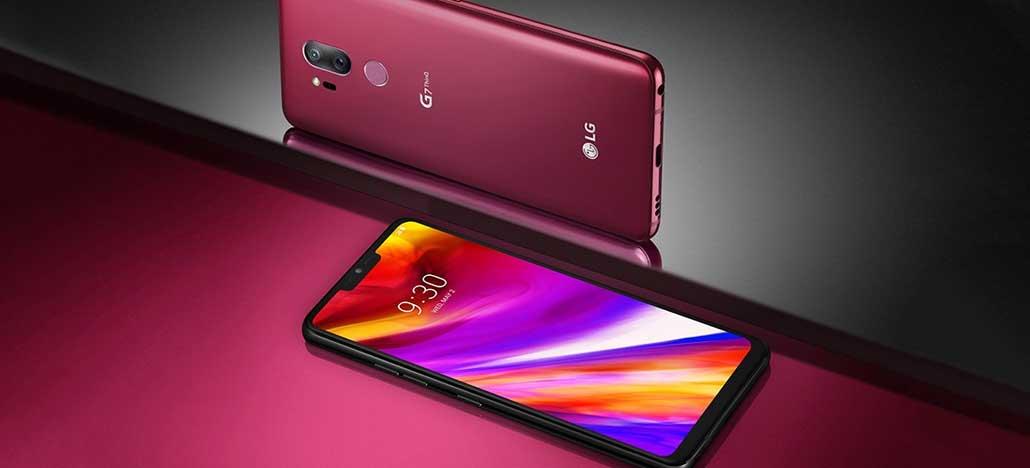 LG lança no Brasil o G7 ThinQ e V35