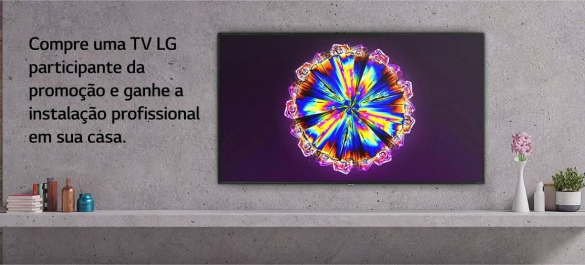 LG promove OLED Week, com instalação gratuita de TVs compradas até o dia 5