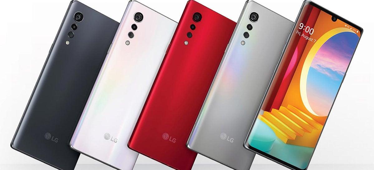 LG Velvet começa a receber update para o Android 11 na Coreia do Sul