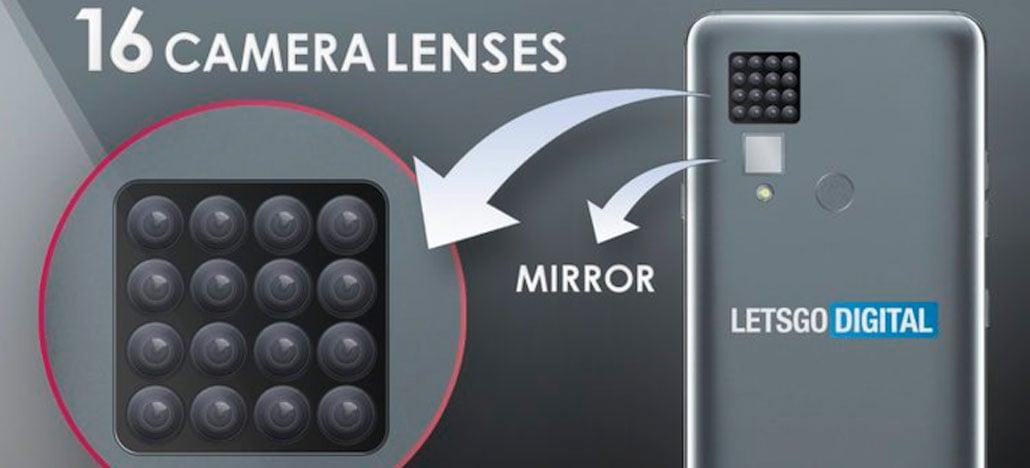 LG registra patente de smartphone com 16 câmeras na parte traseira