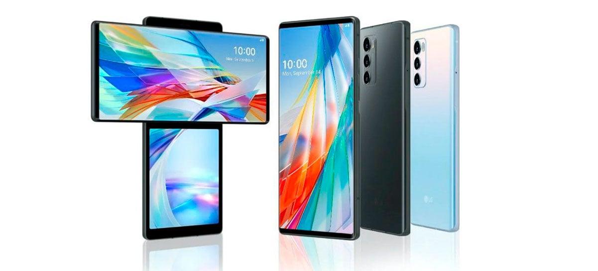 LG vai selecionar celulares para atualizar para o Android 11, alguns até para Android 12