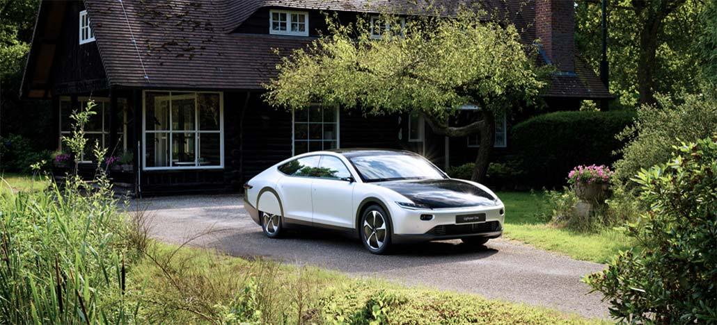 Lightyear One é o primeiro carro de grande autonomia movido por energia solar