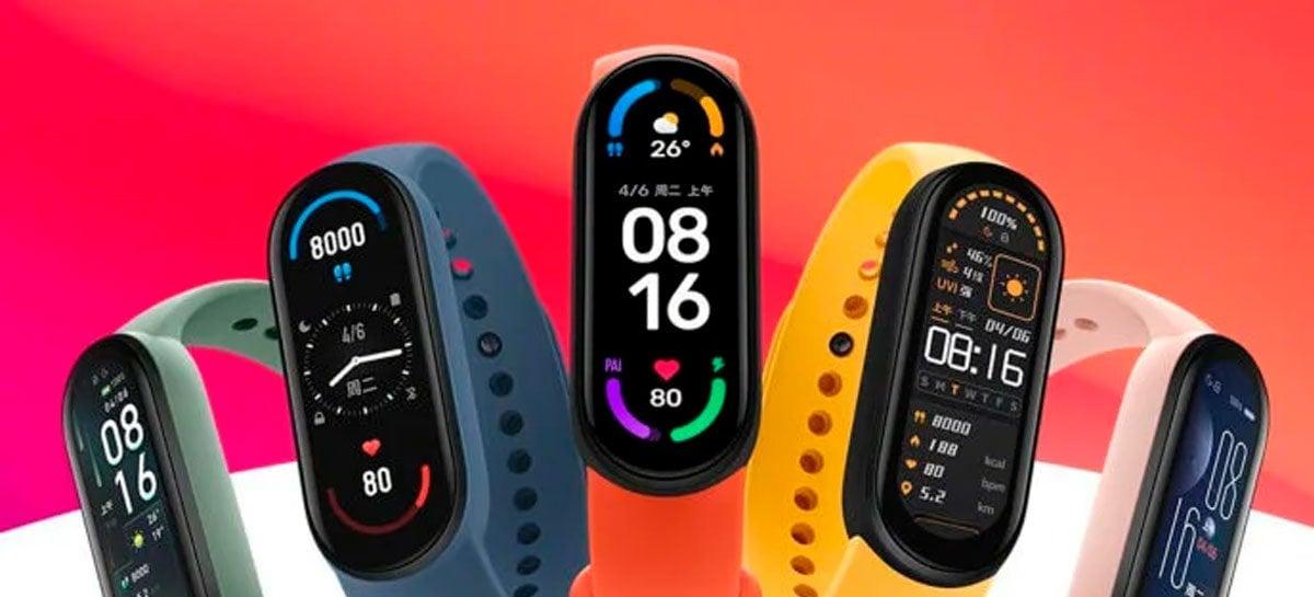 Xiaomi anuncia Mi Band 6 NFC, Roteador Wi-Fi AX3000 Mesh e projetor smart