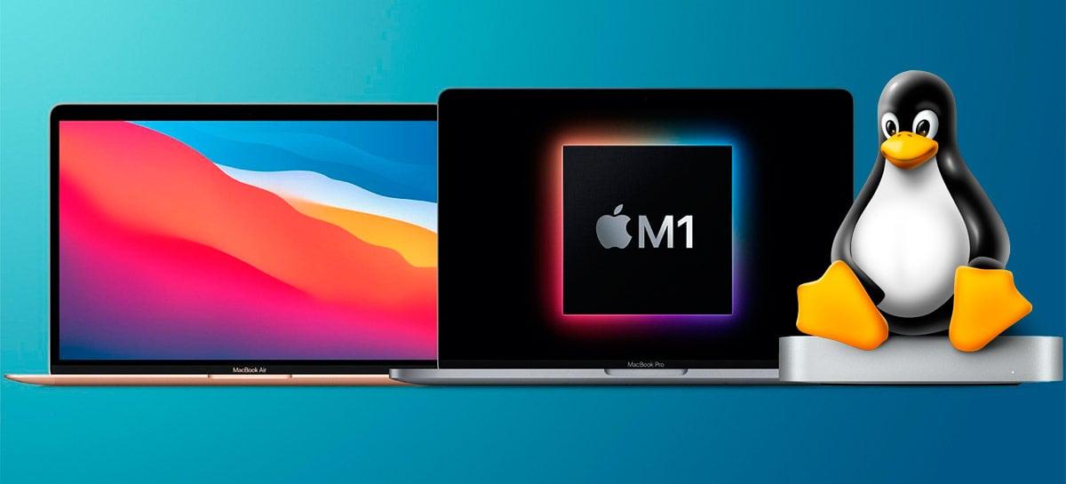 Agora é possível fazer produtos Apple M1 rodar Linux, mas com restrições